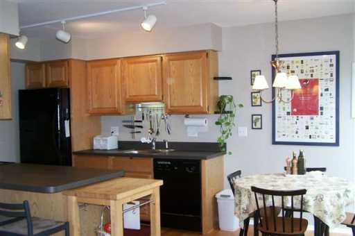 Allen Creek Condos kitchen